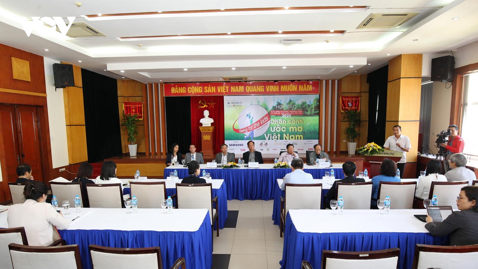 Khởi động giải Golf Từ thiện Vì trẻ em Việt Nam lần thứ 14 – Swing for the Kids 2020