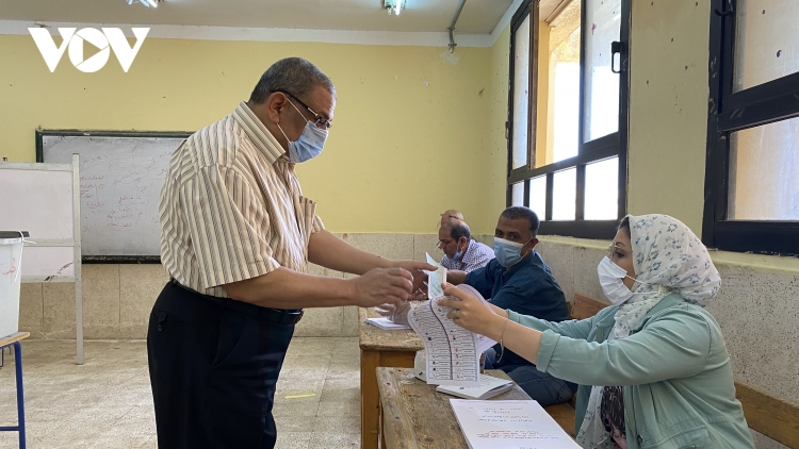 Ai Cập bắt đầu cuộc bầu cử Hạ viện
