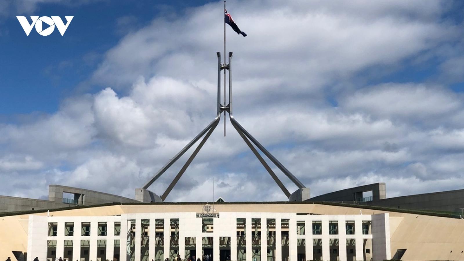 Quốc hội Australia tăng cường các biện pháp an ninh mạng