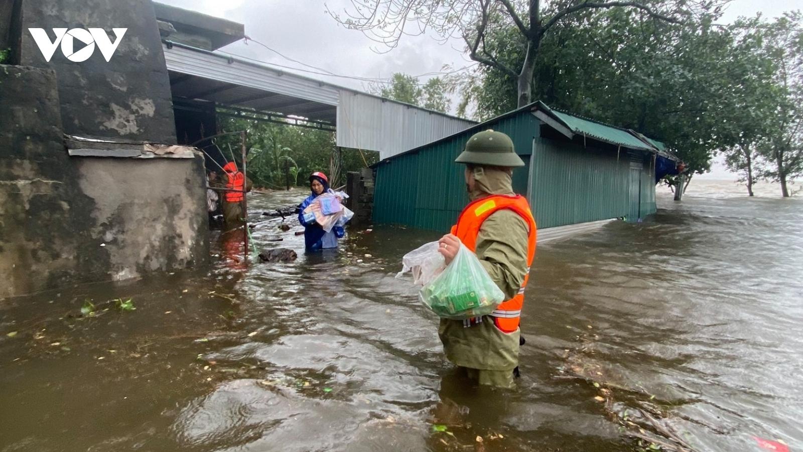 Mưa lớn nhiều hồ, thủy điện ở Hà Tĩnh thông báo xả lũ