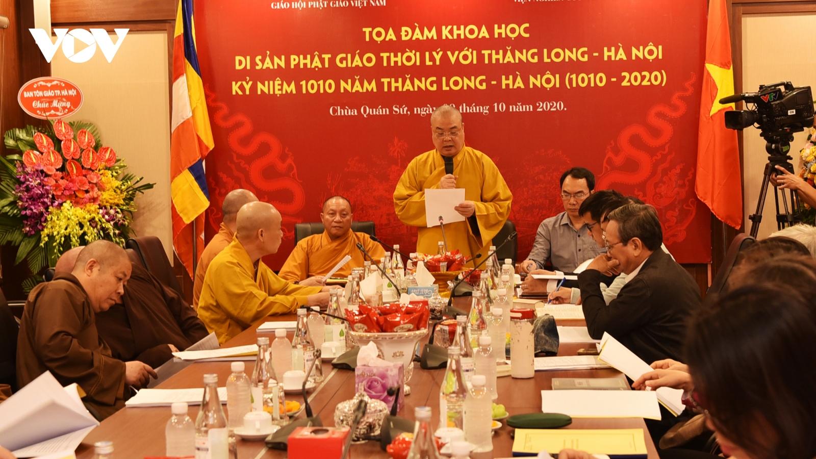 Đề xuất phục dựng di sản tháp Báo Thiên, lễ hội đèn Quảng Chiếu tại Hà Nội