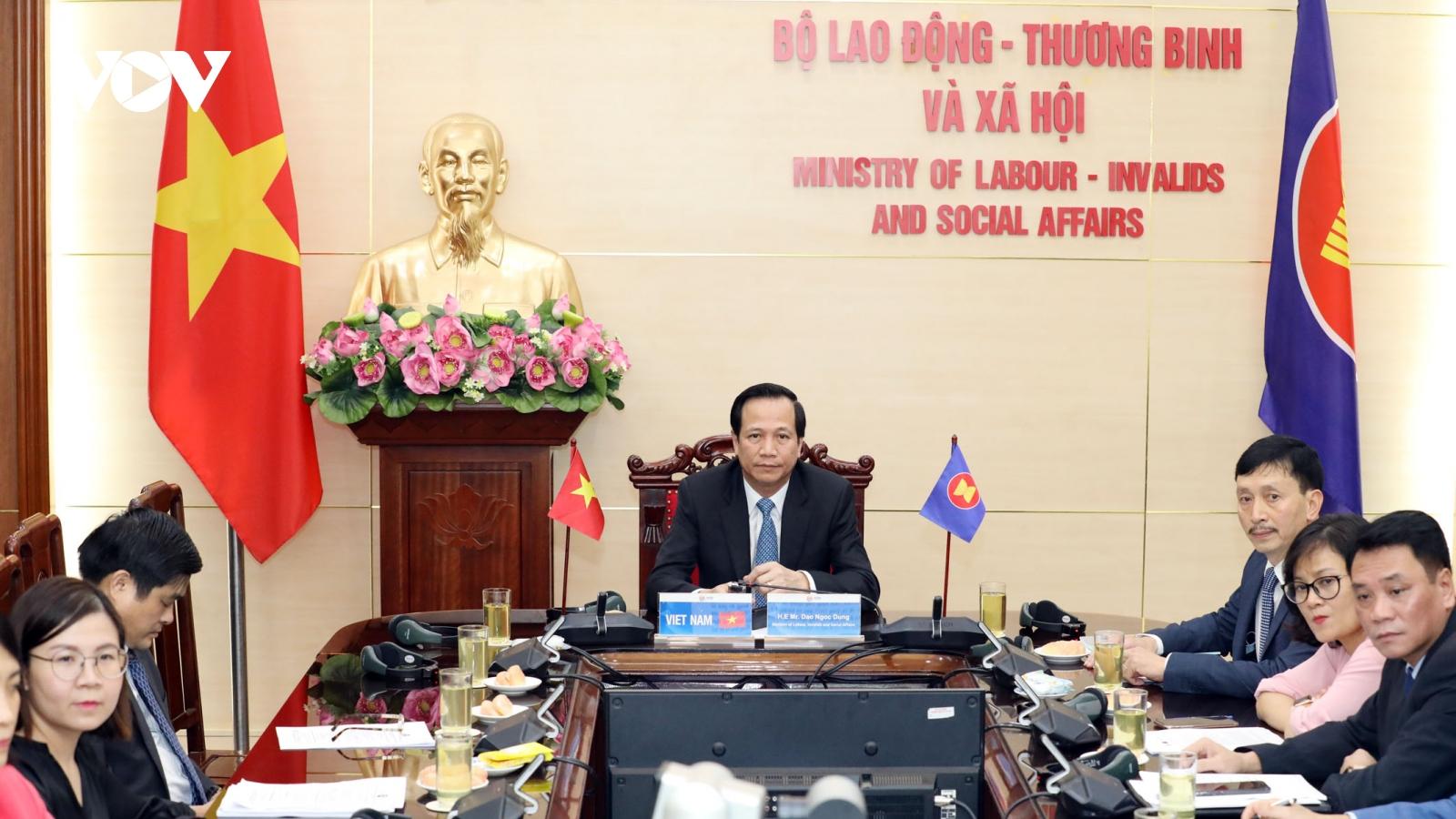 Nhiều tuyên bố về lao động, phát triển nguồn nhân lực tại ASEAN được thông qua