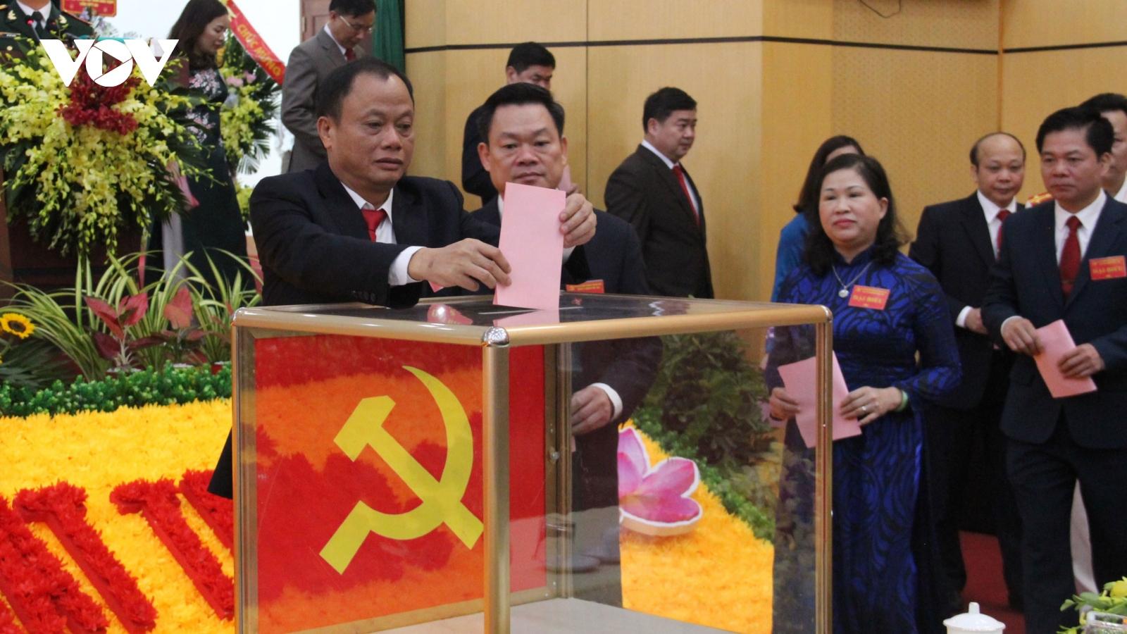47 người trúng cử Ban Chấp hành Đảng bộ tỉnh Bắc Kạn