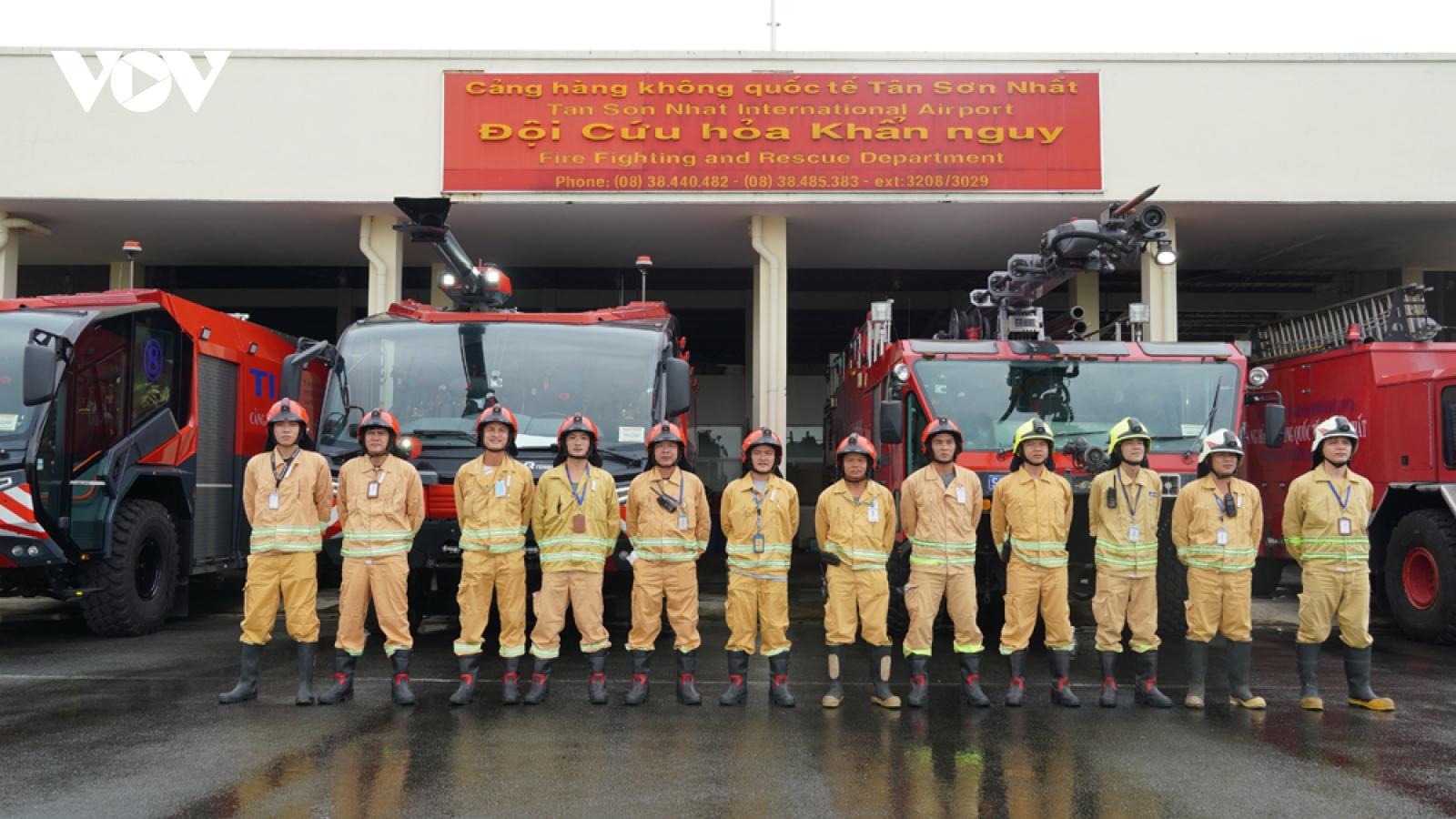 Lính cứu hoả phi trường Tân Sơn Nhất kể chuyện cứu máy bay