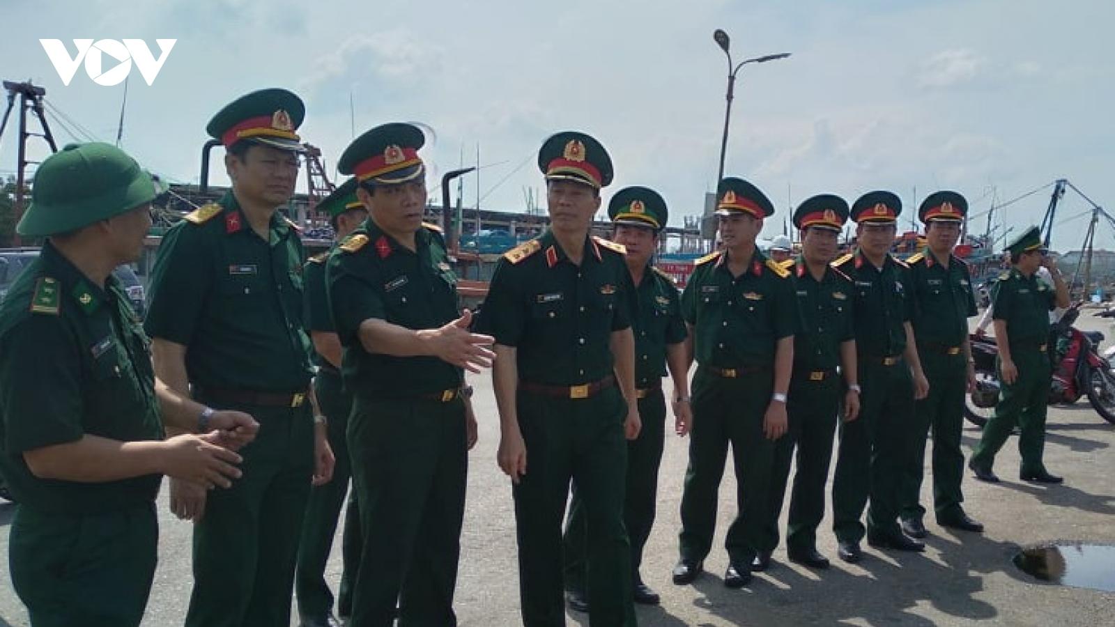 Quân khu 5 triển khai công tác phòng, chống bão số 9