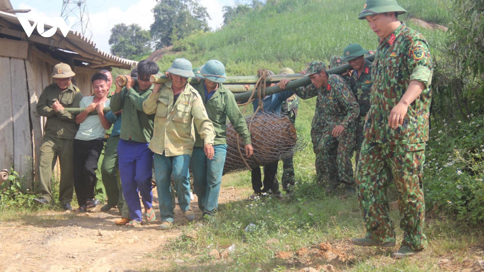 Sơn La tiếp tục hủy nổ thành công quả bom 600kg