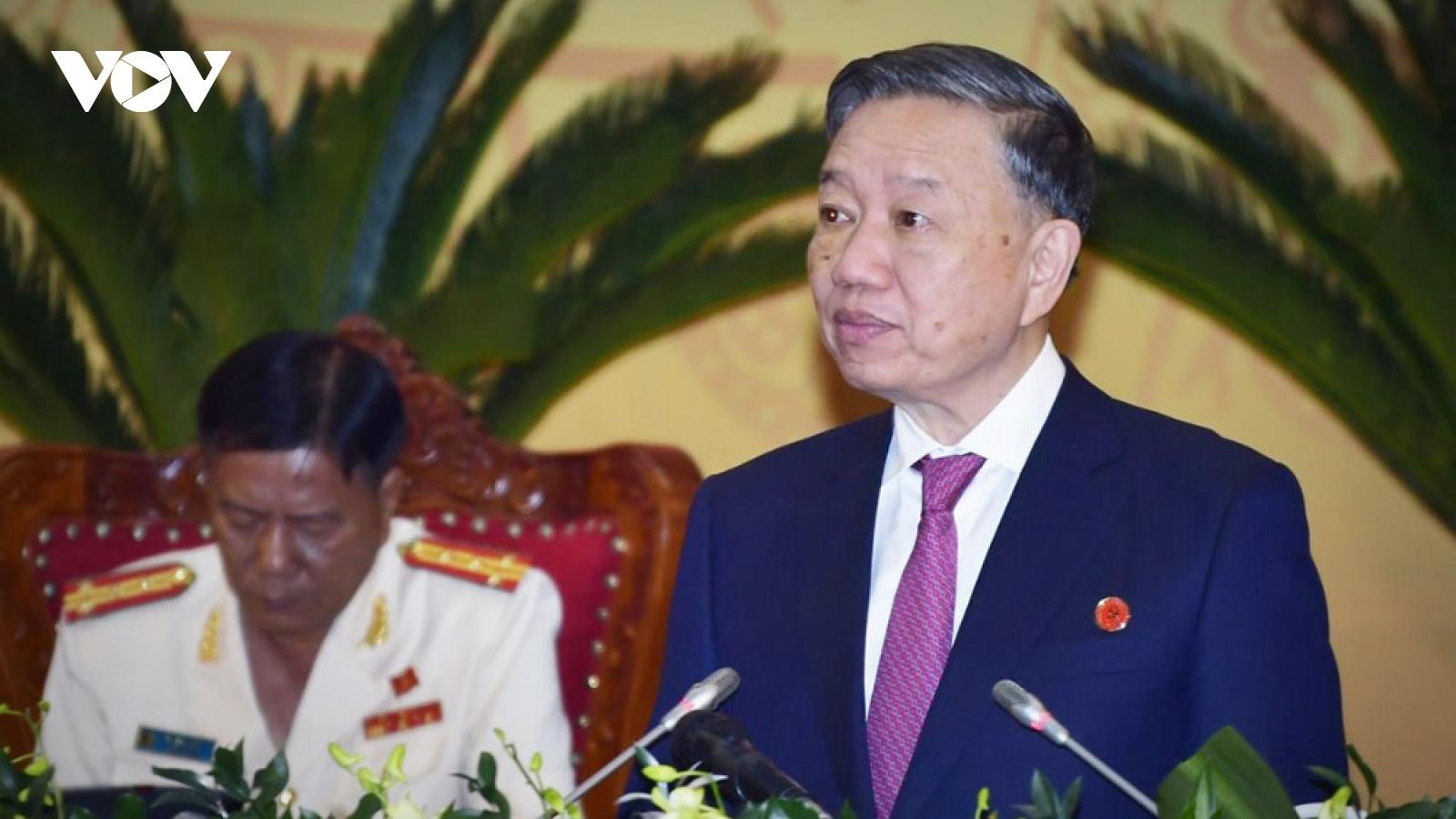 Đại tướng Tô Lâm: Cà Mau cần nhận rõ thời cơ, thách thức để phát triển