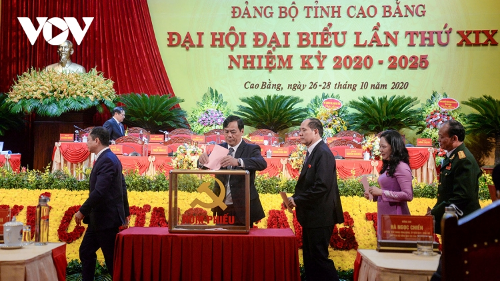 53 người trúng cử Ban Chấp hànhĐảng bộ tỉnh Cao Bằng khóa XIX