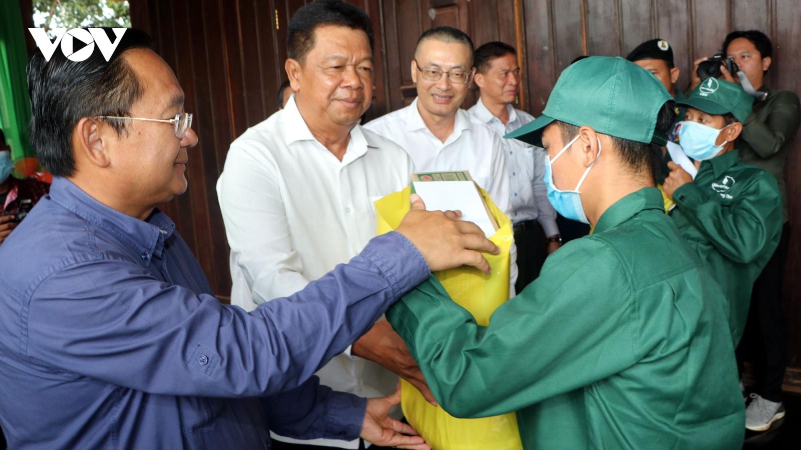 Các công ty Cao su Việt Nam được đánh giá cao tại Campuchia