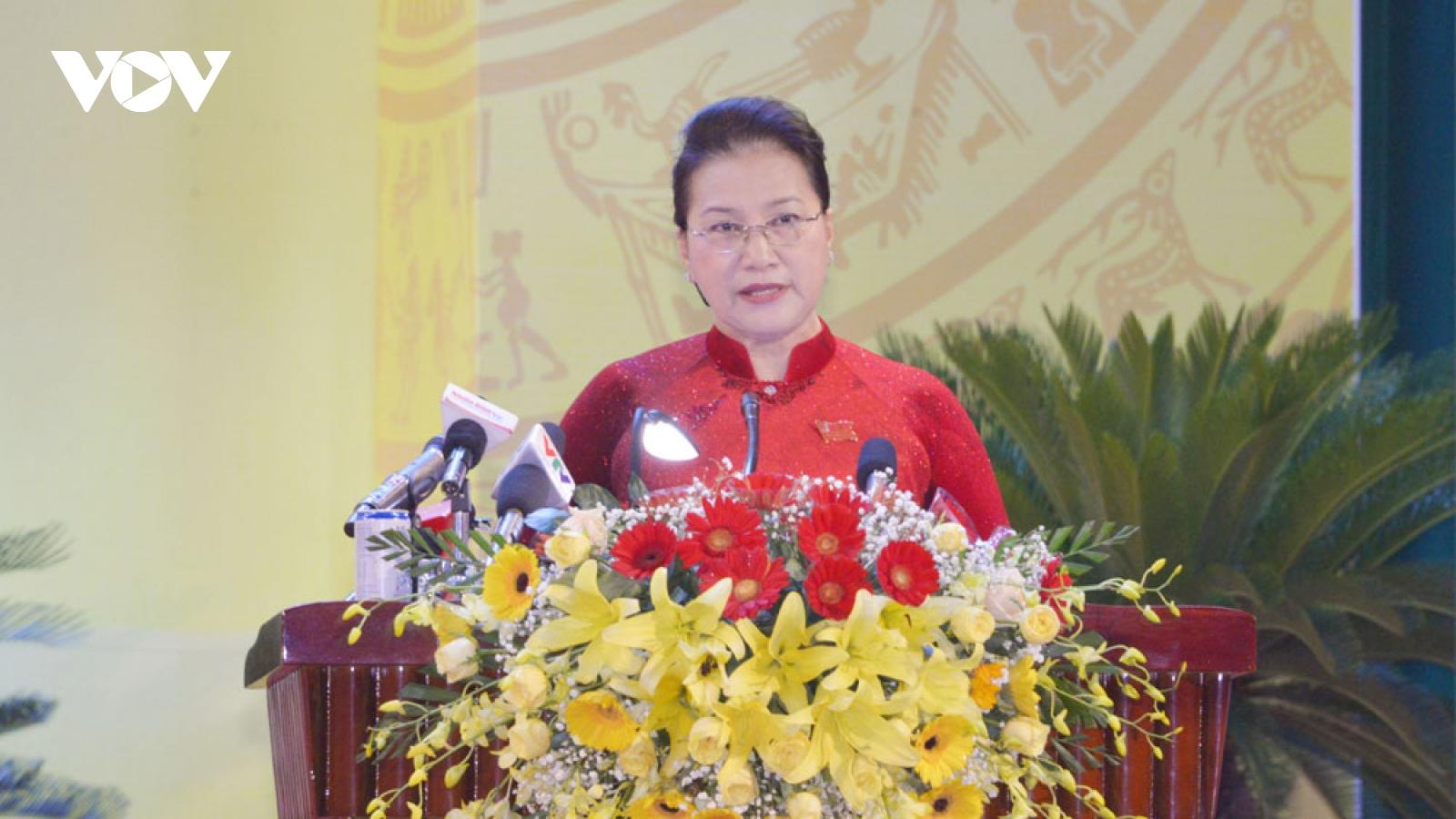 Chủ tịch Quốc hội dự Đại hội Đảng bộ tỉnh Khánh Hòa