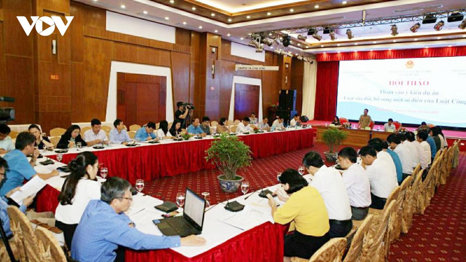 Tham vấn ý kiến về dự án Luật sửa đổi, bổ sung một số điều của Luật Công đoàn