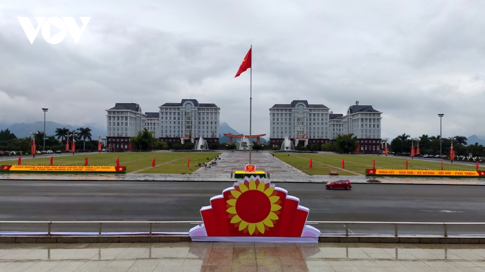 Lai Châu cắt giảm chương trình Đại hội Đảng, hướng về vùng lũ miền Trung