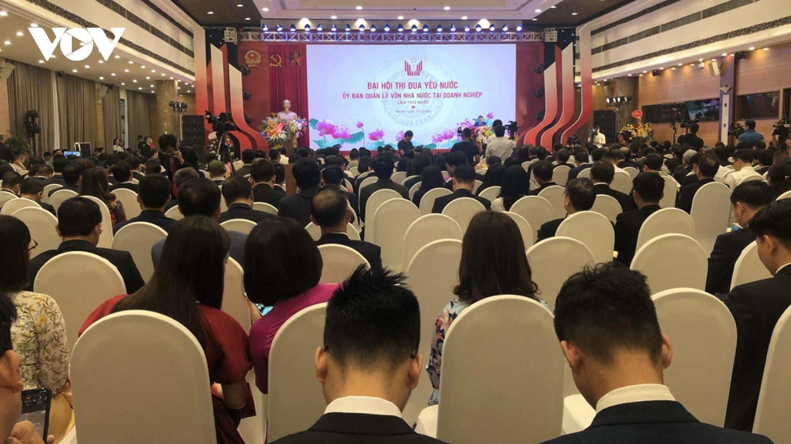 Đại hội Thi đua Ủy ban Quản lý vốn nhà nước tại doanh nghiệp lần thứ nhất