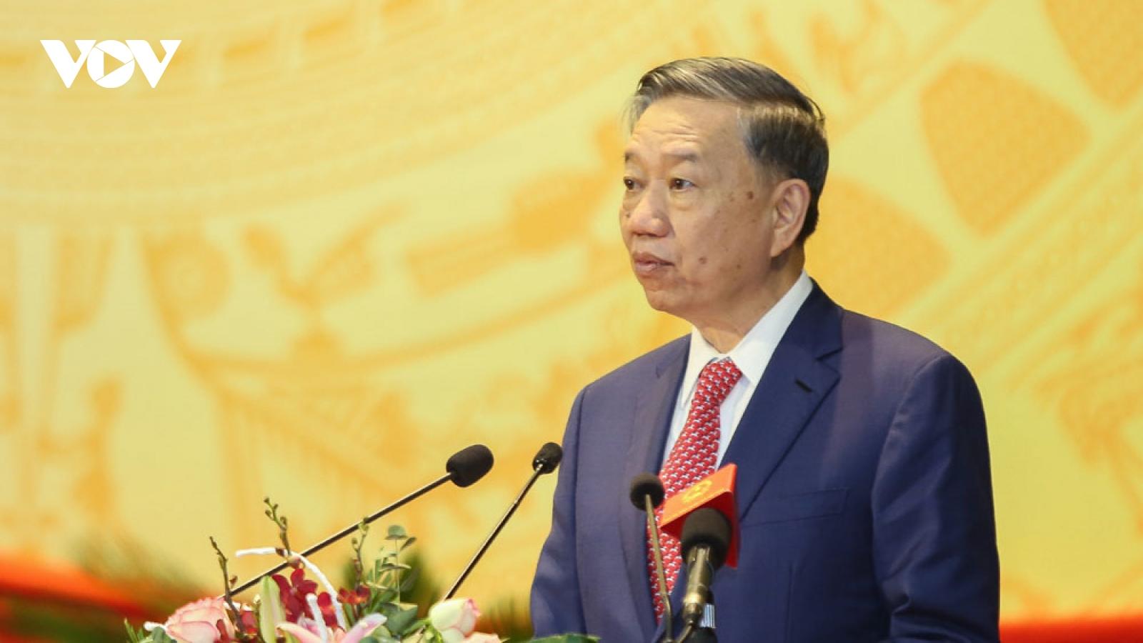 Đại tướng Tô Lâm dự khai mạc Đại hội Đảng bộ tỉnh Điện Biên