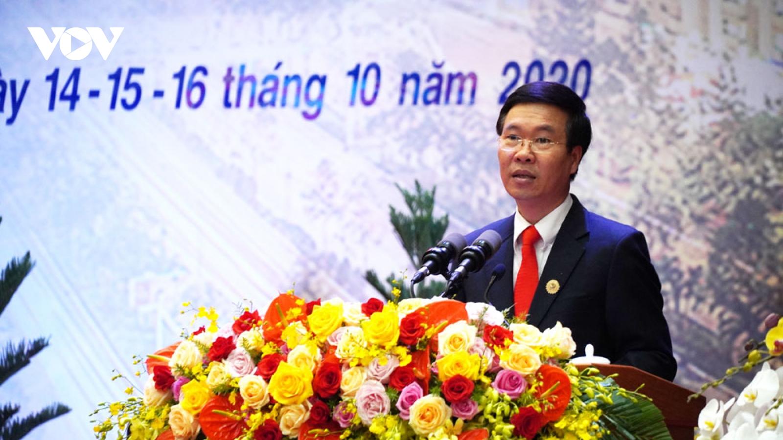Ông Võ Văn Thưởng: Khuyến khích bảo vệ cán bộ dám nghĩ, dám làm vì lợi ích chung