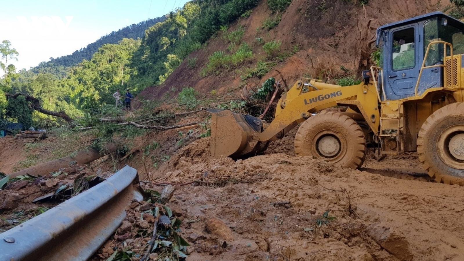 Cảnh báo lũ quét, sạt lở đất và ngập úng cục bộ các tỉnh Bắc bộ, Trung bộ