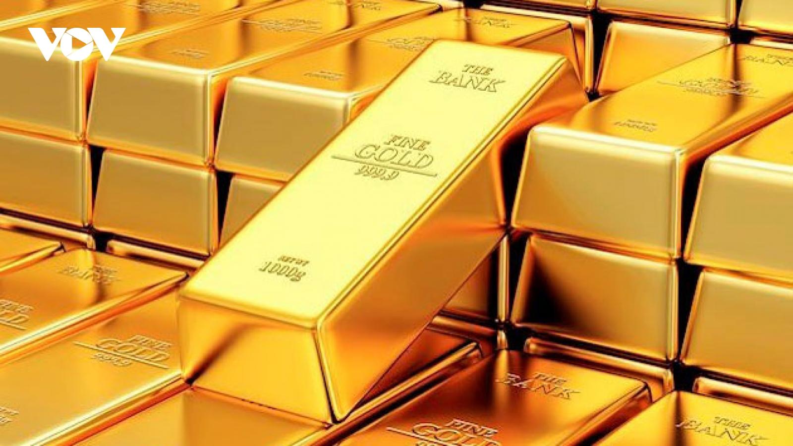 Giá vàng trong nước và thế giới cùng tăng