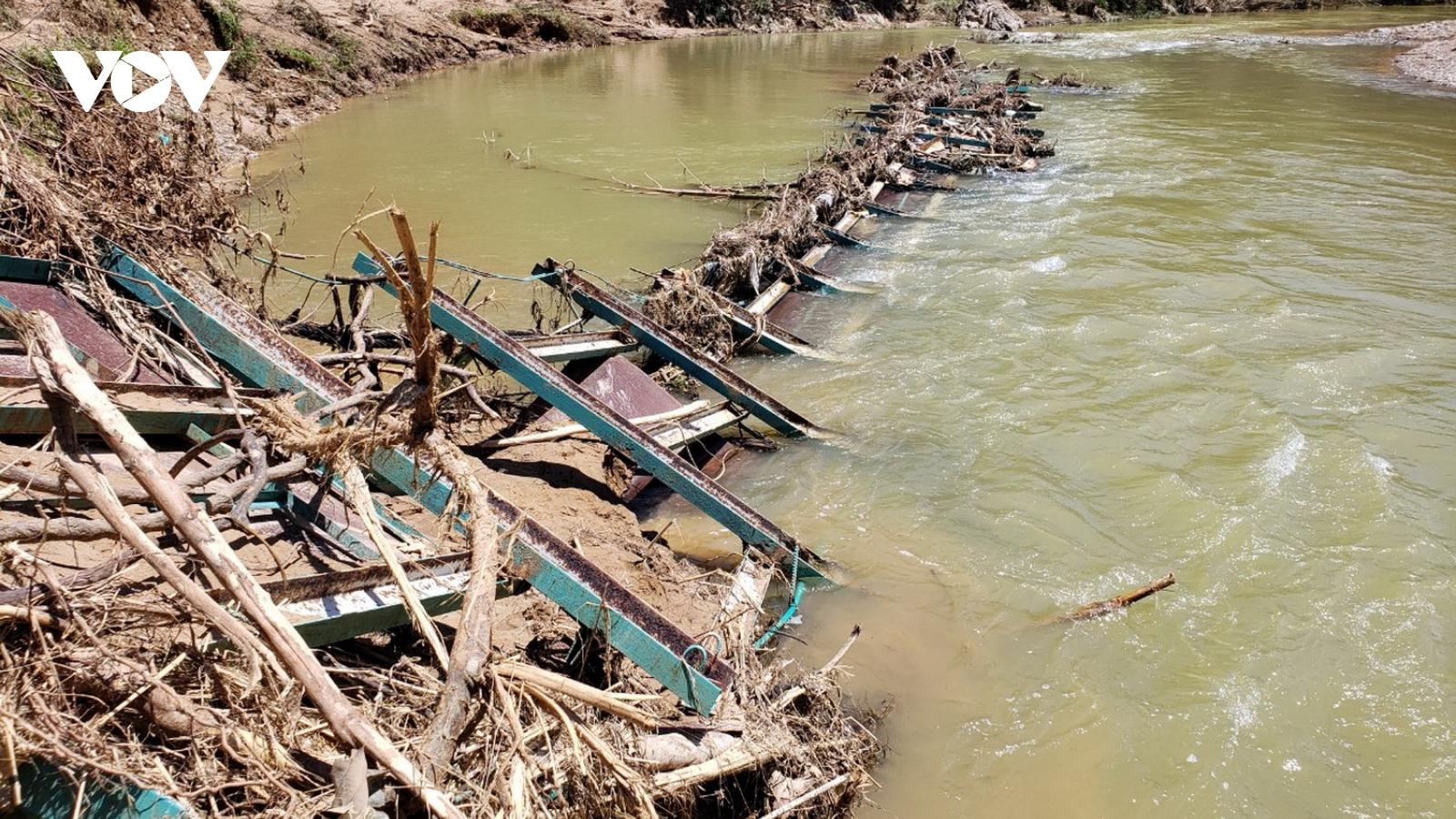 Các địa phương ở miền Trung chủ động phòng tránh lũ quét, sạt lở đất