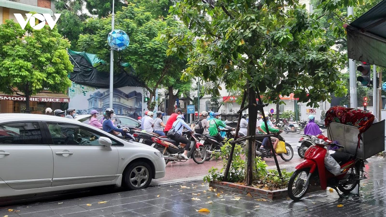 Không khí lạnh tăng cường, Hà Nội mưa rào, trời lạnh