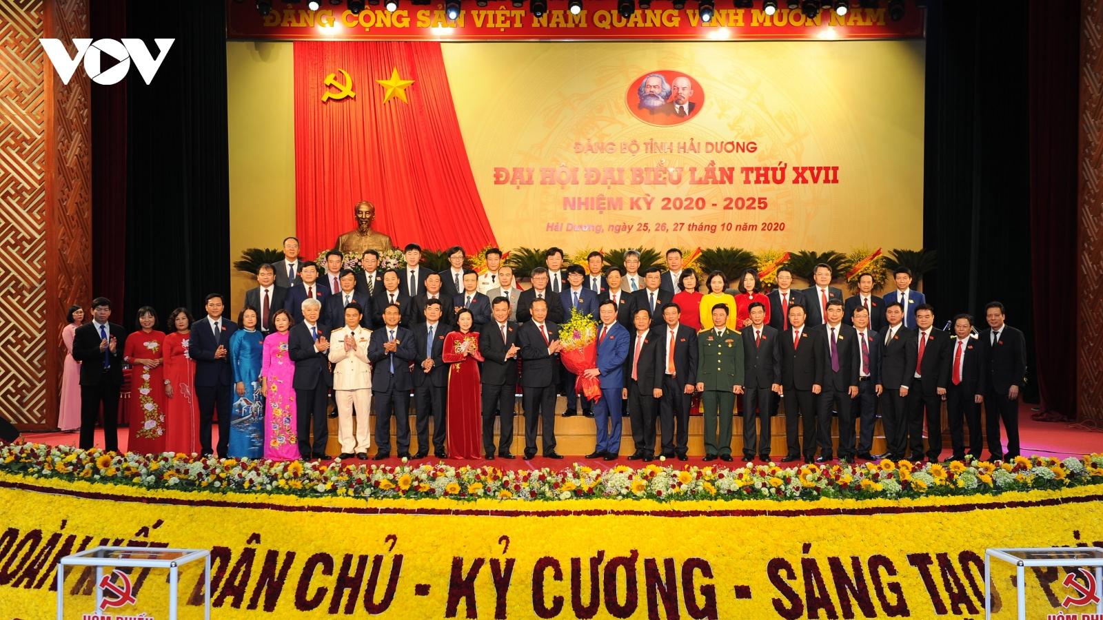 Bế mạc Đại hội Đảng bộ tỉnh Hải Dương