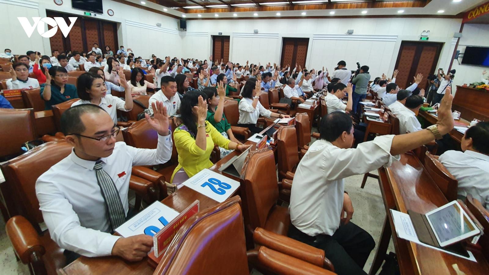 TP.HCM thông qua Nghị quyết liên quan việc lập thành phố Thủ Đức