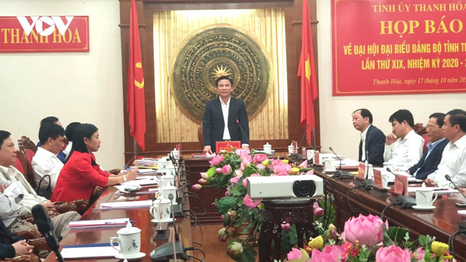Thanh Hoá sẽ bầu Ban chấp hành nhiệm kỳ 2020-2025 gồm 65 ủy viên