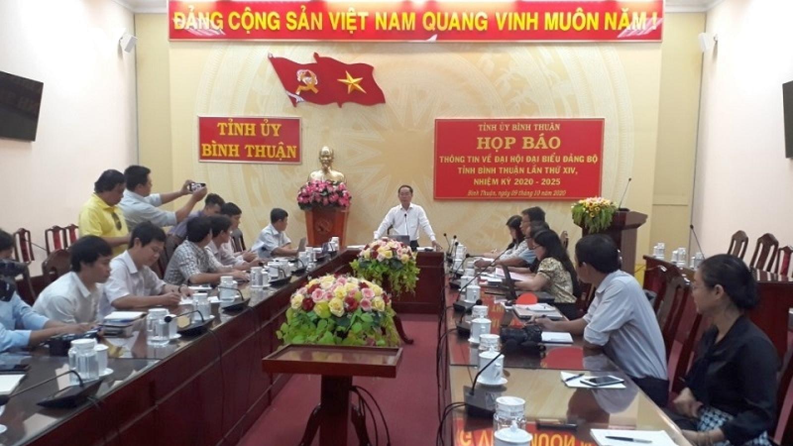 Đại hội Đảng bộ tỉnh Bình Thuận: Cơ bản giải quyết xong đơn thư tố cáo