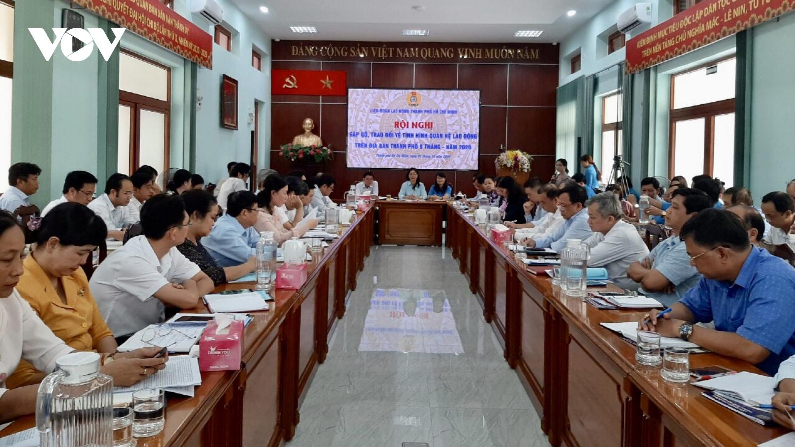 TPHCM có nguy cơ xảy ra tranh chấp lao động trong dịp Tết Nguyên đán 2021