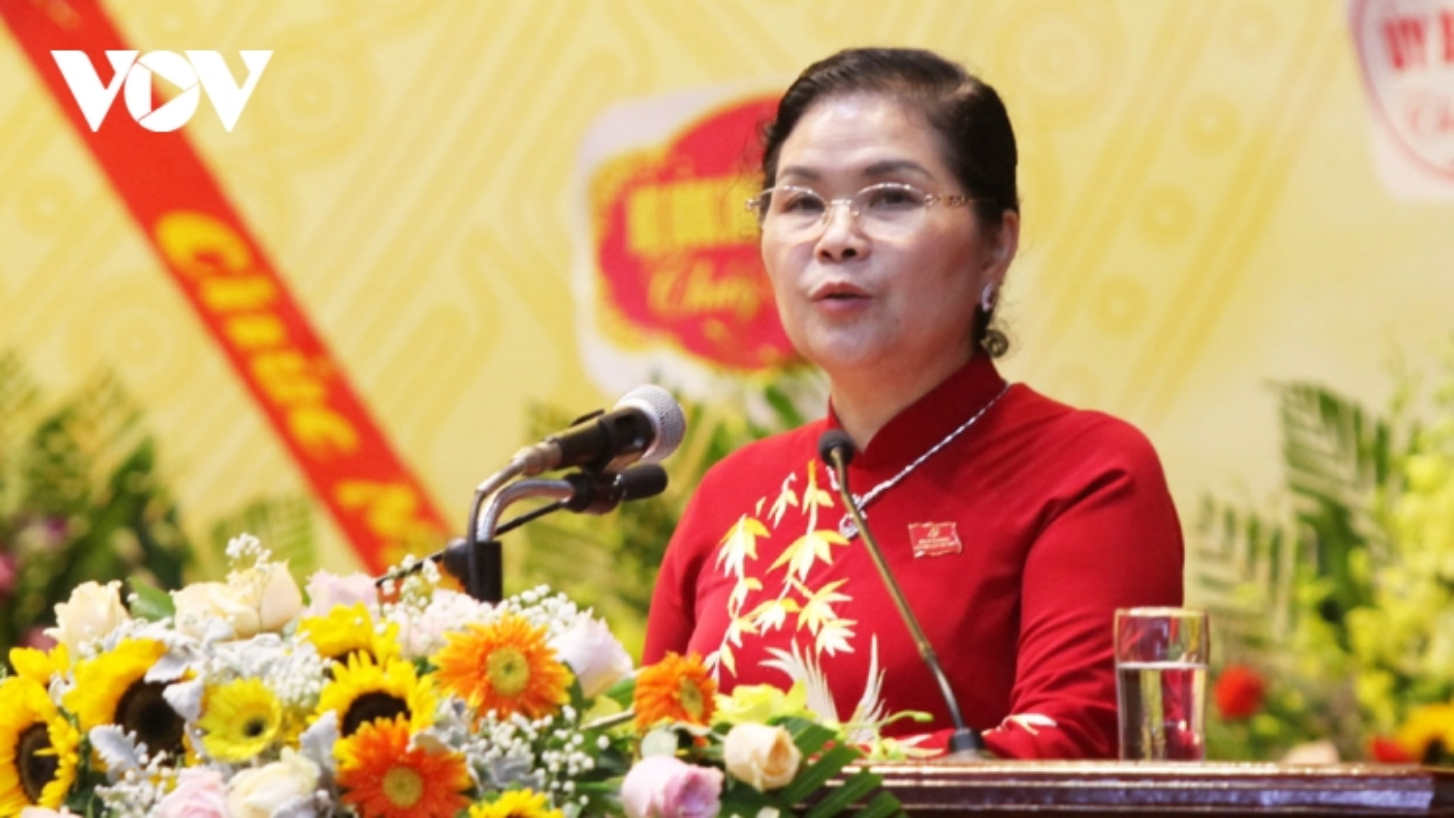 Bà Giàng Páo Mỷ tái đắc cử Bí thư Tỉnh ủy Lai Châu nhiệm kỳ 2020-2025
