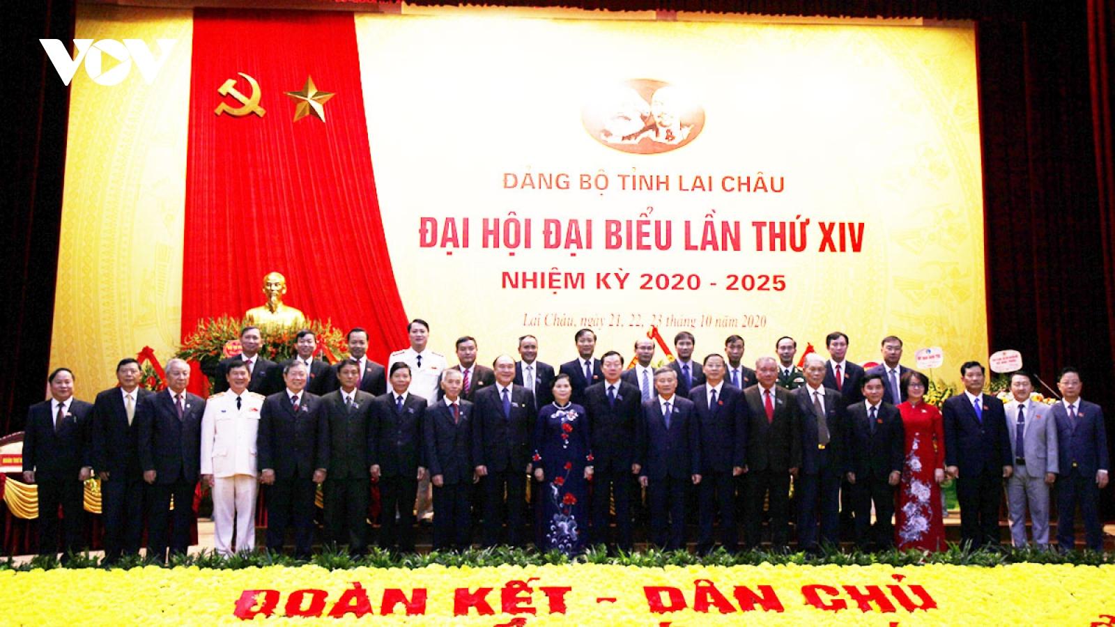 Bế mạc Đại hội Đảng bộ tỉnh Lai Châu khóa XIV