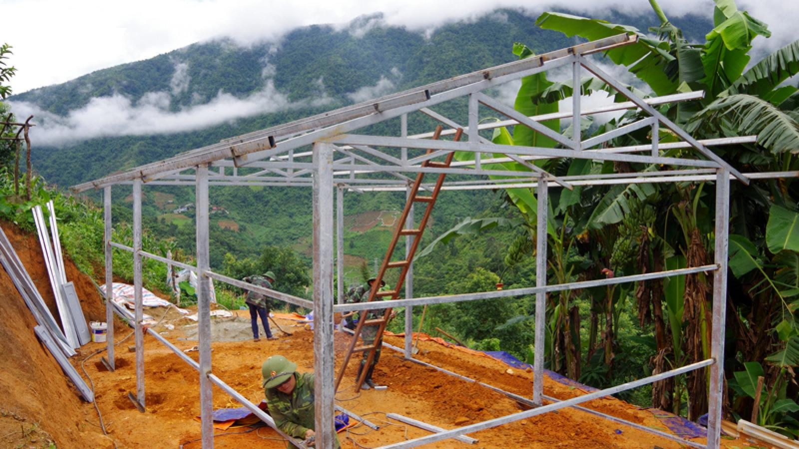 Lai Châu hoàn thành hỗ trợ hơn 1.000 nhà cho hộ nghèo biên giới