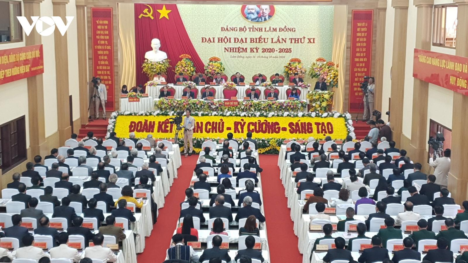 Khai mạc Đại hội Đảng bộ tỉnh Lâm Đồng lần thứ XI