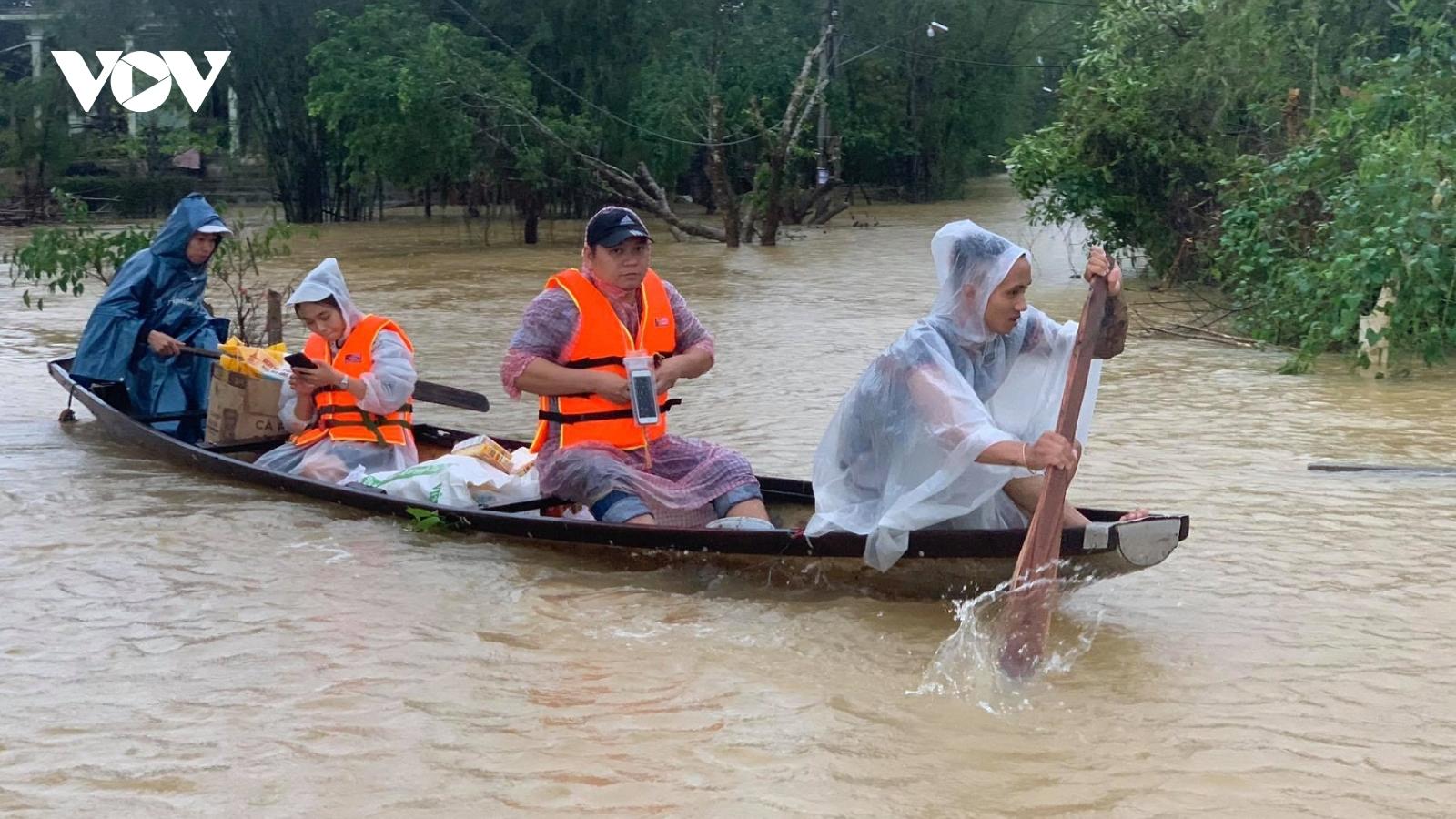 Cơ cực ở vùng rốn lũ Quảng Điền