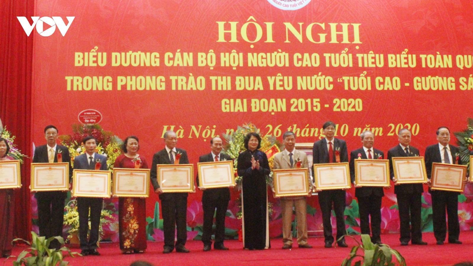 13 cán bộ Hội Người cao tuổi tiêu biểu nhận Bằng khen của Thủ tướng