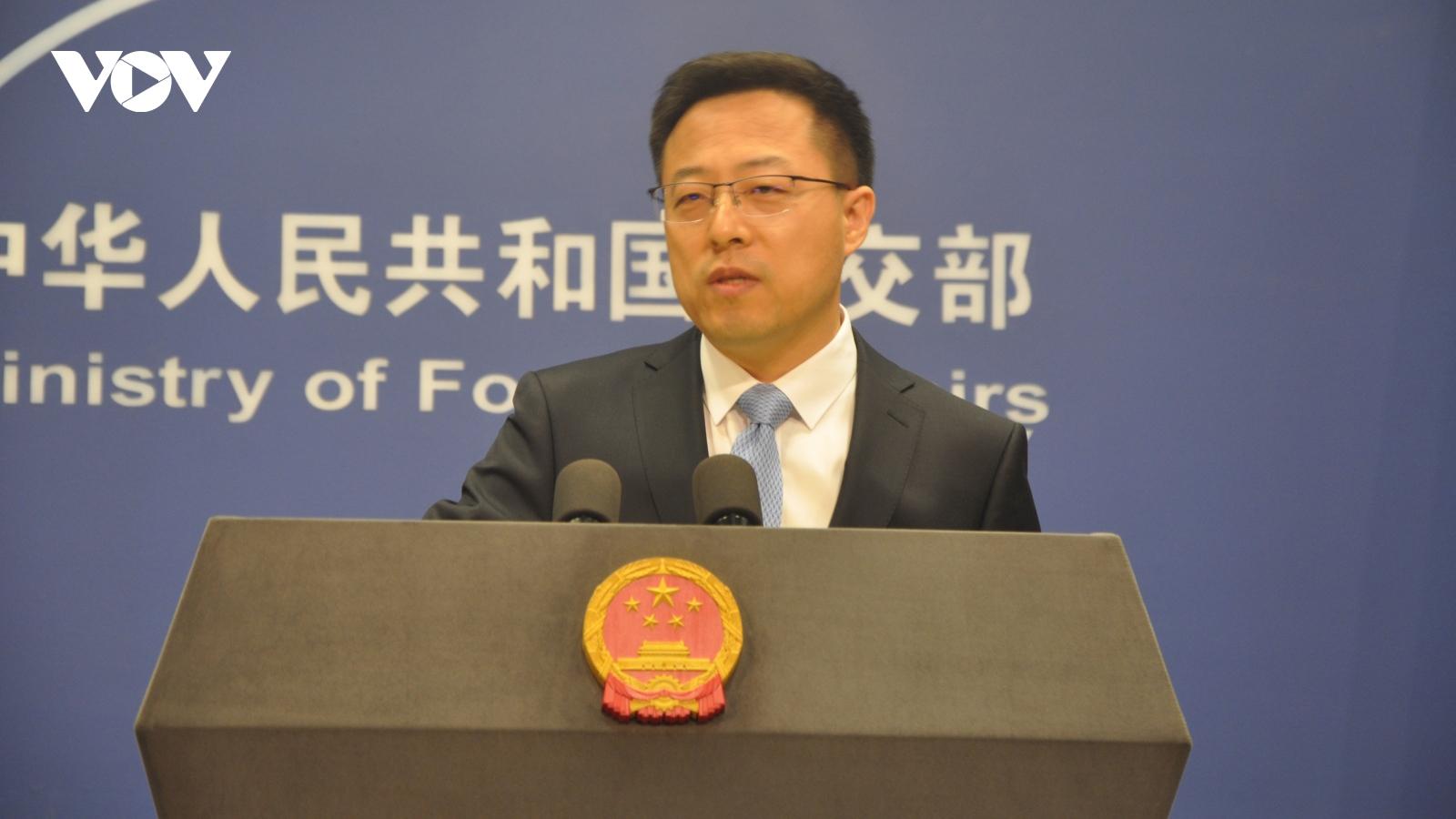 Trung Quốc chỉ trích Mỹ đơn độc trong cuộc chiến bao vây kiềm chế nước này