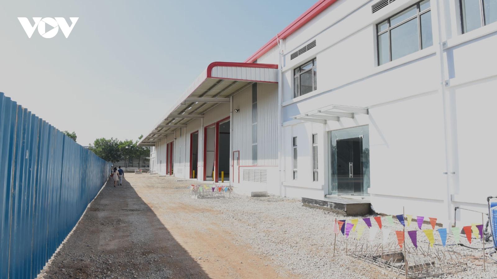 Hoàn thiện dự án nhà xưởng xây sẵn đầu tiên tại Thái Nguyên