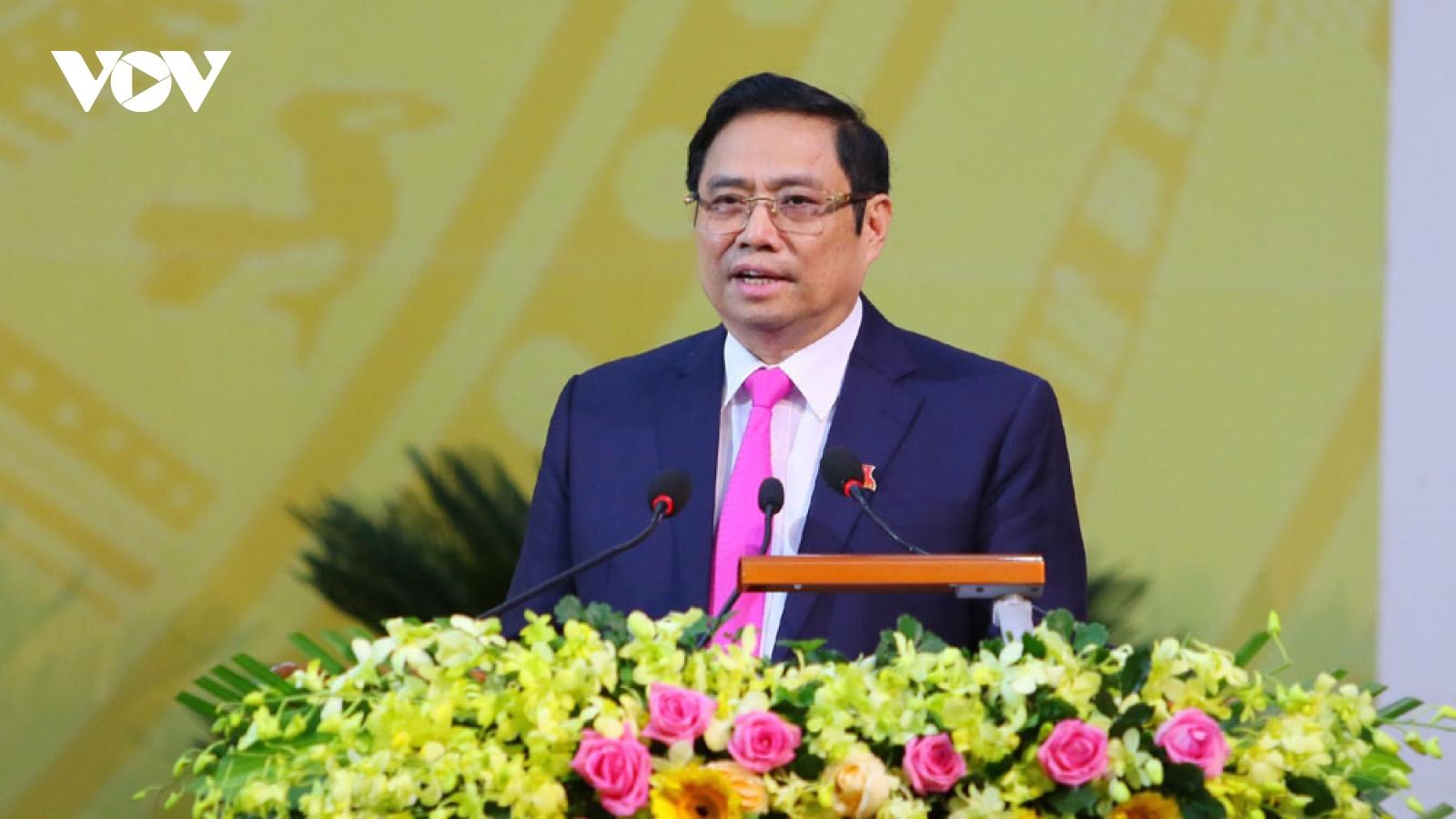 Ông Phạm Minh Chính: Hậu Giang cần biến khó khăn thành động lực vươn lên