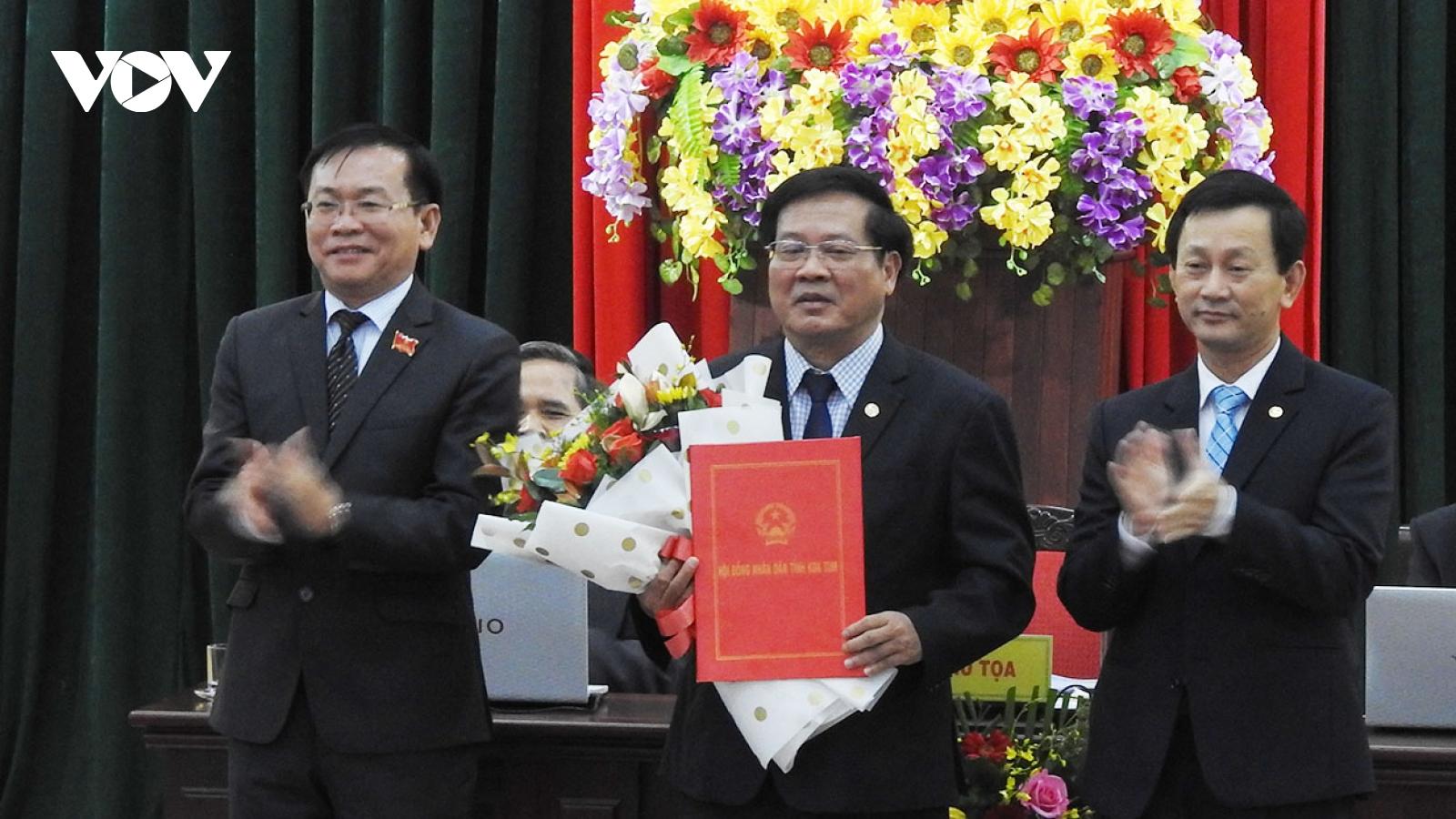 Kon Tum có tân Chủ tịch HĐND và UBND tỉnh