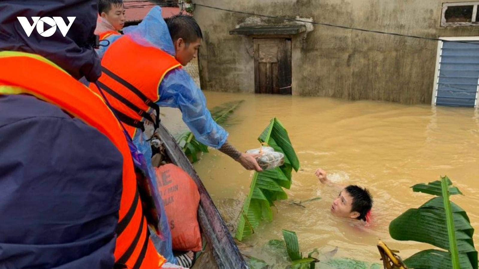Chính phủ Mỹ chia sẻ thiệt hại do lũ lụt ở các tỉnh miền Trung
