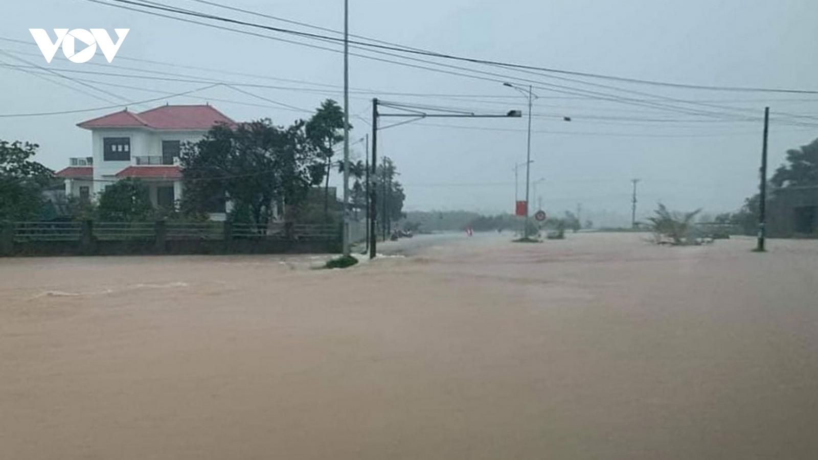 Công điện khẩn: Bảo đảm an toàn công trình thủy lợi đề phòng mưa lớn của bão số 9