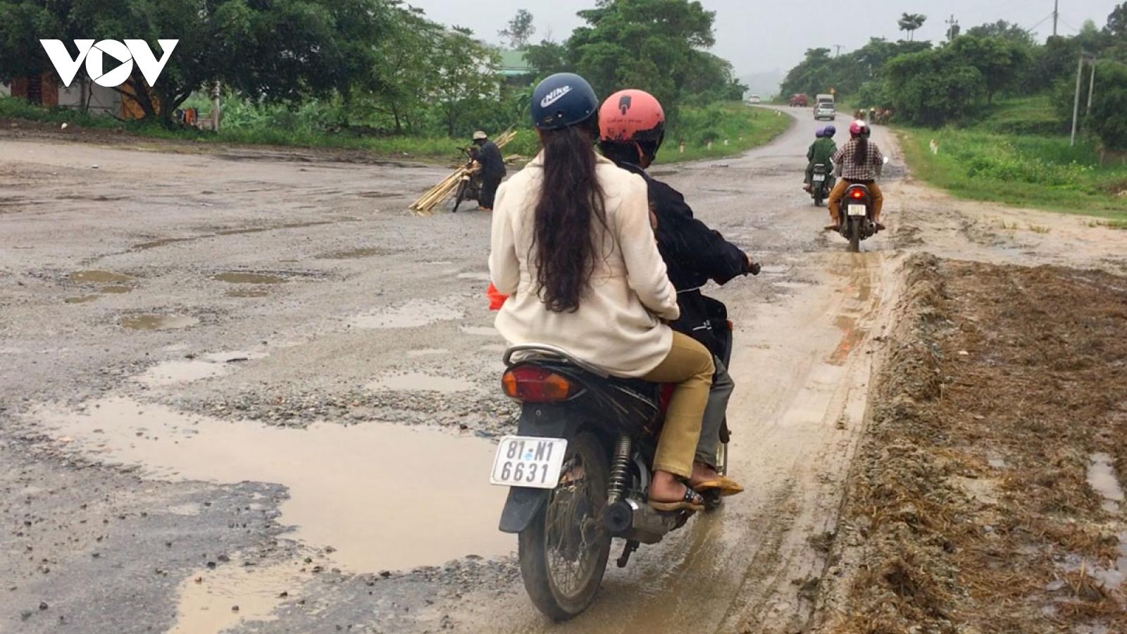 Quốc lộ 19 qua Gia Lai bị hư hỏng: Cục quản lý đường bộ chỉ đạo gấp