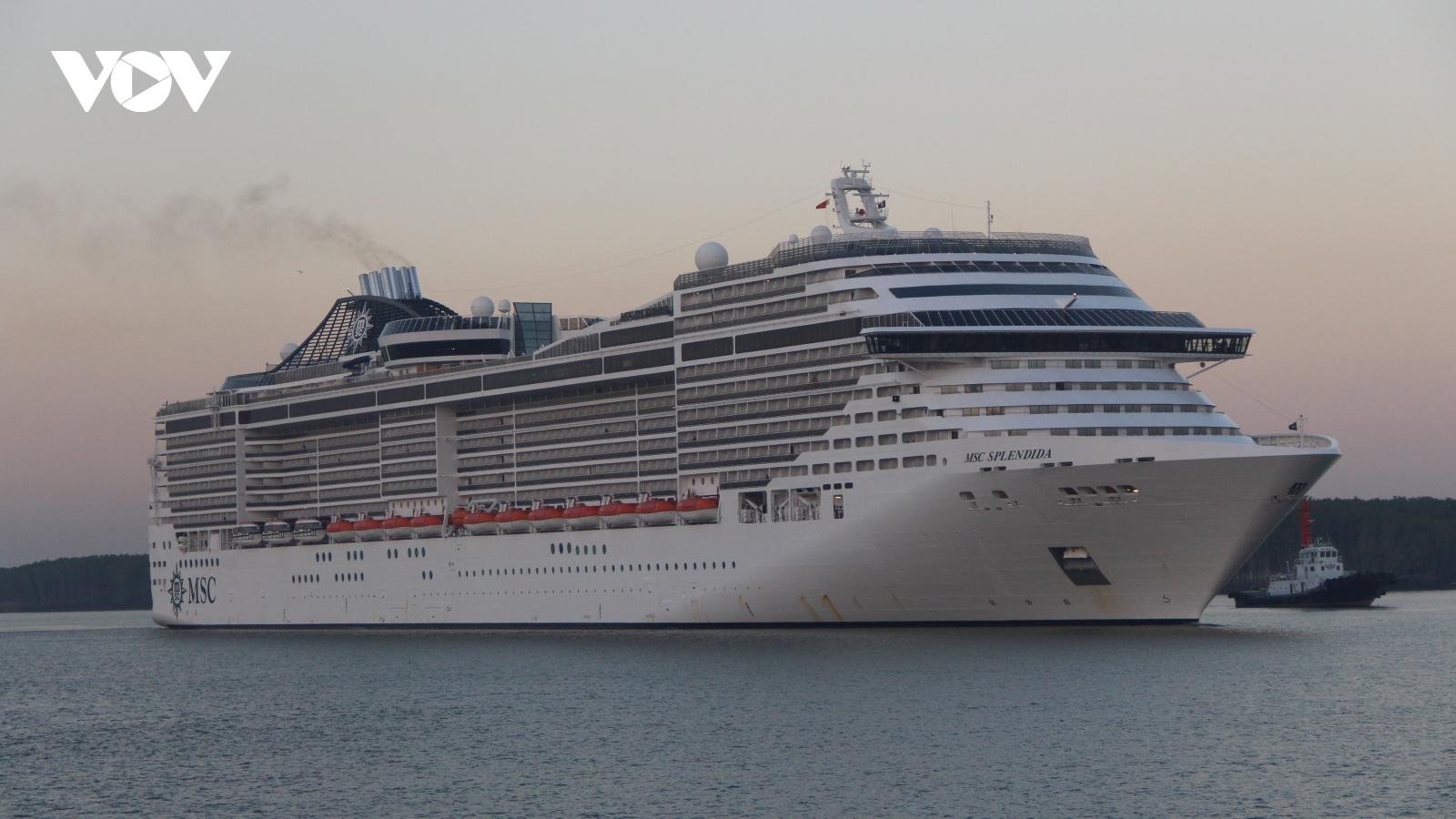 Cảng tàu khách quốc tế nâng tầm du lịch của Bà Rịa Vũng Tàu