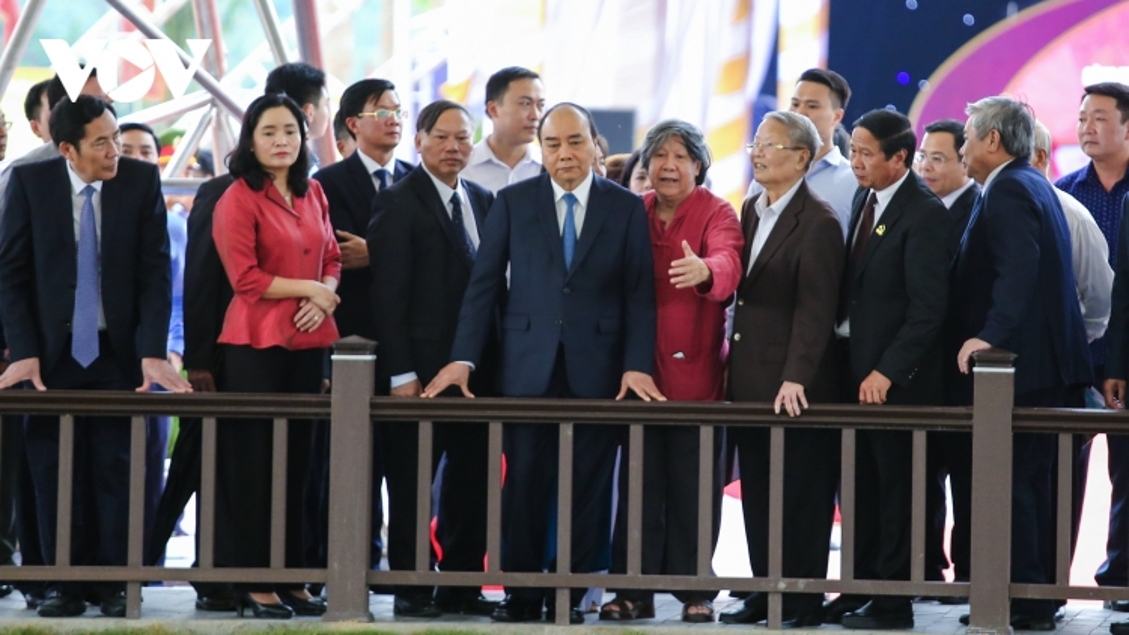 Thủ tướng dự lễ khánh thành Khu bảo tồn bãi cọc Cao Quỳ (Hải Phòng)