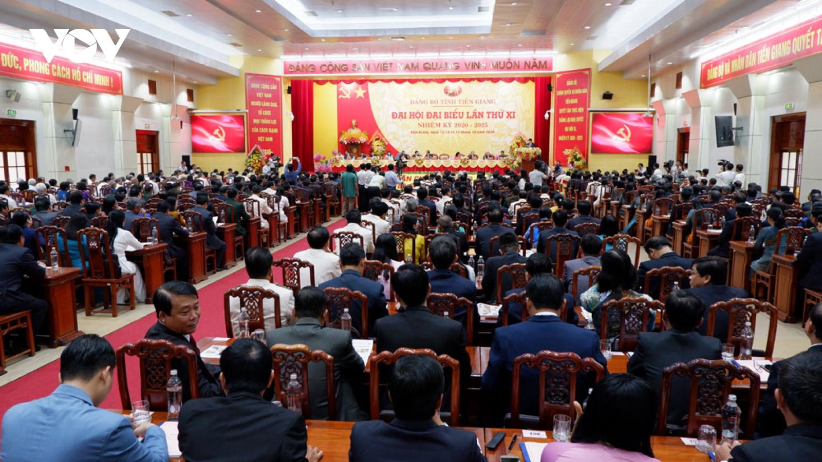 Tiền Giang phấn đấu trở thành tỉnh phát triển vùng kinh tế trọng điểm phía Nam
