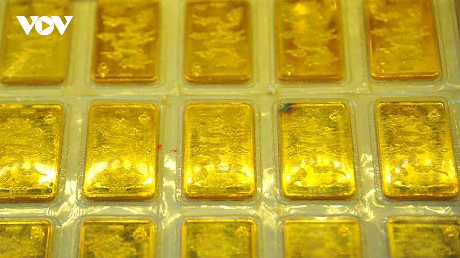 Giá vàng giảm đồng loạt tại nhiều thị trường