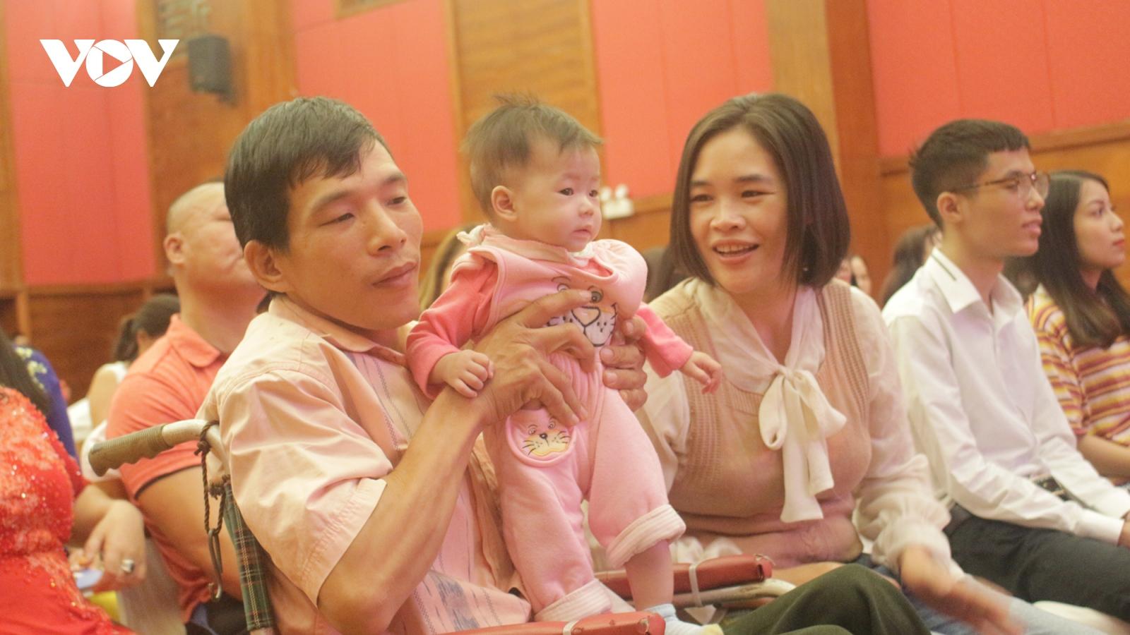 Công bố chương trình Lễ cưới tập thể lần 3 dành cho người khuyết tật