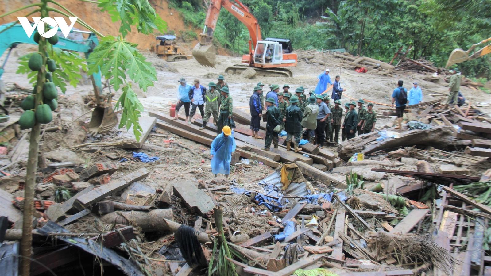 Quảng Nam không để người dân trong vùng thiên tai bị thiếu đói