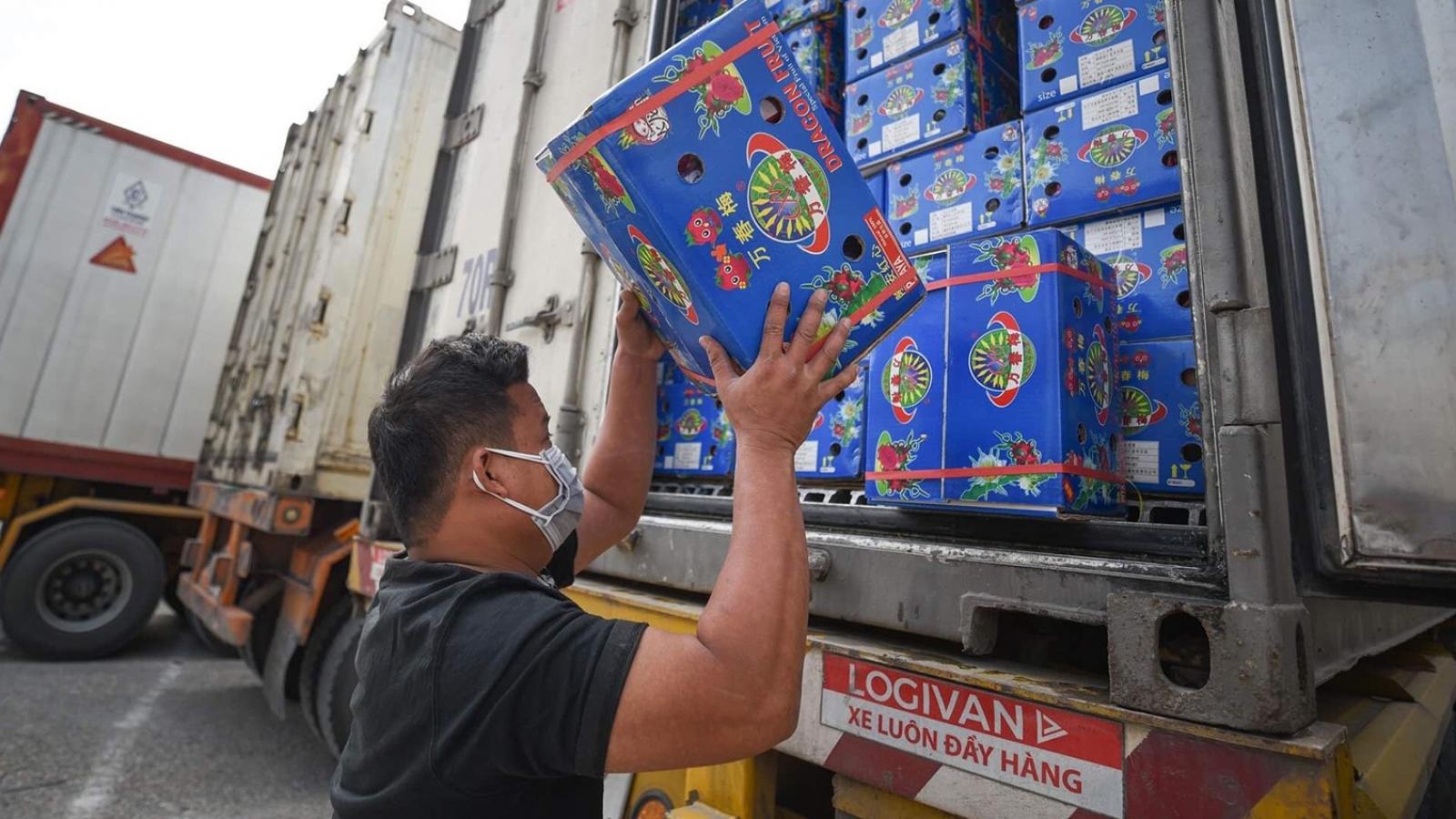 Xuất khẩu rau quả đạt 2,5 tỷ USD, giảm 11 %