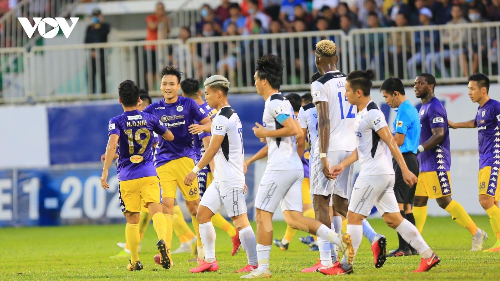 Việt Anh rực sáng, Hà Nội FC giành chiến thắng 4 sao trước HAGL