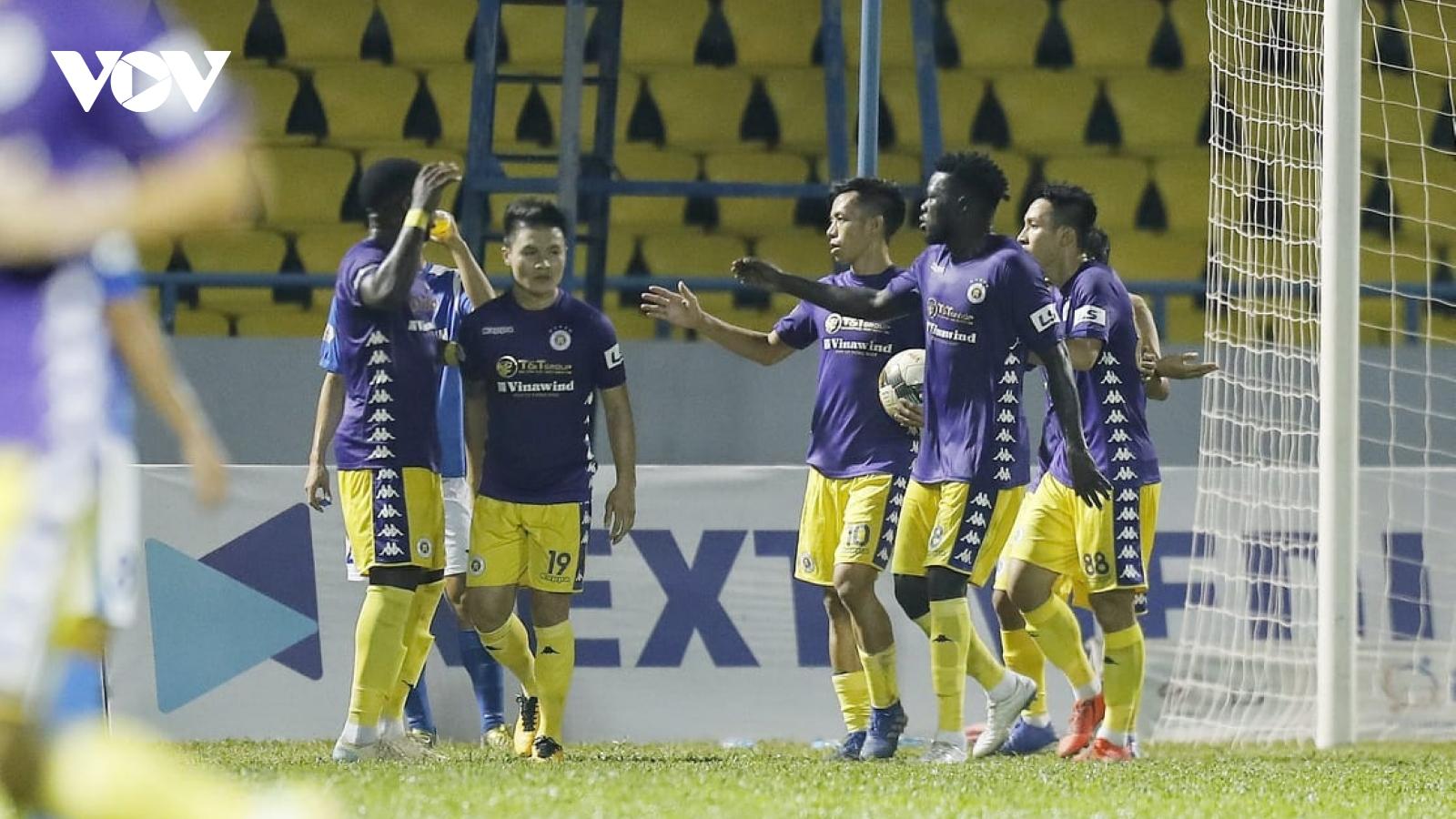 Thắng đậm Than Quảng Ninh, Hà Nội FC vẫn ngậm ngùi về nhì ở V-League 2020